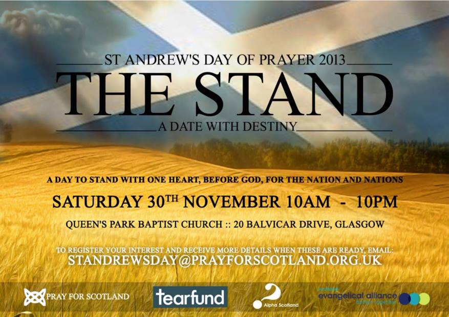 The stand flyer 2013