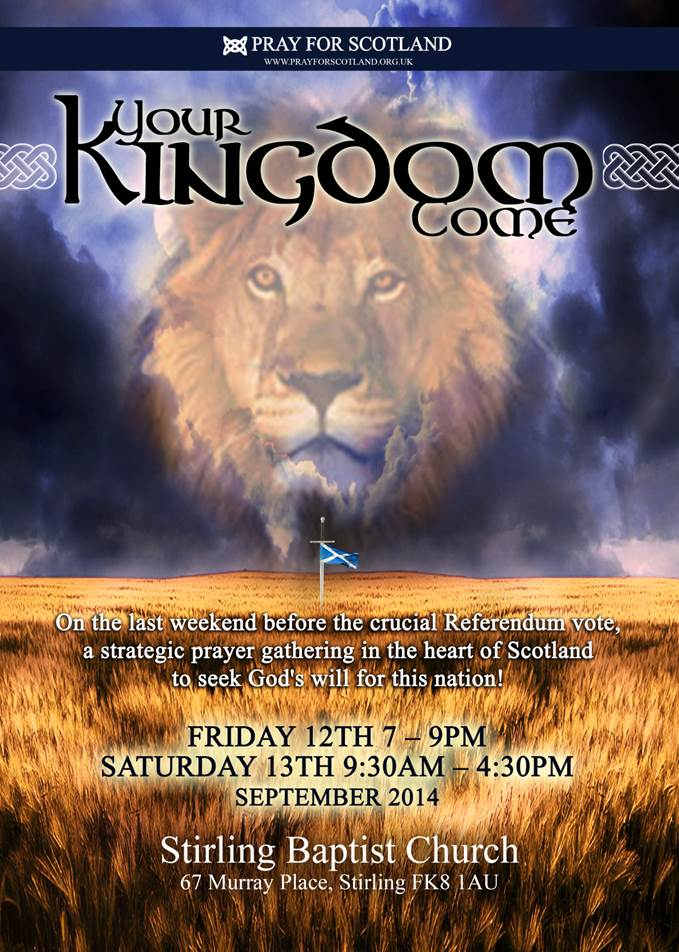 Your Kingdom come 2014