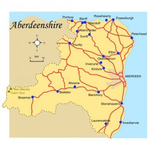 Aberdeenshire_Map